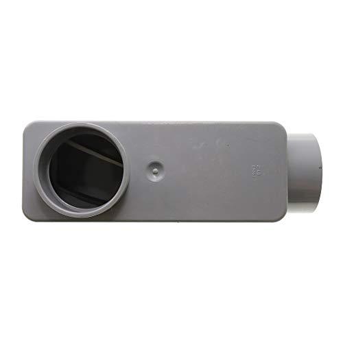Carlon E986J Rigid Non-Metallic PVC Type-LB Conduit Access Body, 2-Inch