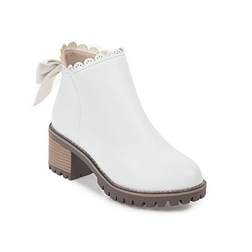 Balamasa Balamasaabl10256 - Col Bas Pour Femme, Blanc (blanc), 35