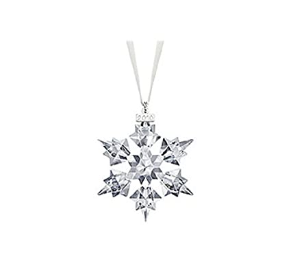 787022c2f Amazon.com: Swarovski 2010 Annual Edition Crystal Snowflake Ornament: Home  & Kitchen
