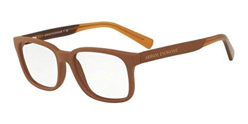 Intercambio ARMANI 0 ax3029 óptico Full borde cuadrado gafas ...