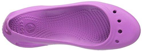 Crocs Kadee - Zapatos de punta redonda para mujer Wild Orchid/Wild Orchid