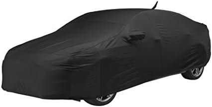 クラフトカスタムフィット車のカバーレクサスls460モデル–Fleecedサテン(ブラック)