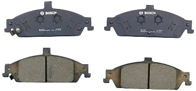 Bosch BC727 QuietCast Premium Ceramic Disc Brake Pad Set For Select Chevrolet Classic, Malibu; Oldsmobile Alero, Cutlass; Pontiac Grand Am; Front