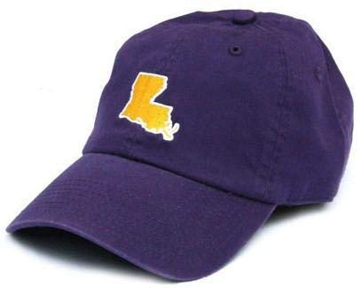 STATE TRADITIONS LA Baton Rouge Gameday Hat in Purple