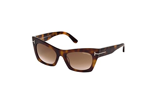 Tom Ford - KASIA FT 0459, Cat Eye, acetate, women, TORTOISE/BROWN SHADED(56F), - Frame Tom Ford Optical Eye Cat