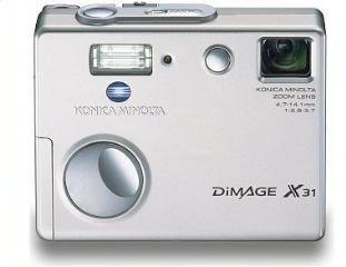 konica minolta dimage x31 32mp digital camera with 3x optical zoom - Minolta Digital Camera