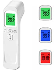 Digital Touchless Infrared Thěrmòmeter for Adults and Infants with LCD and Memory Storage Function