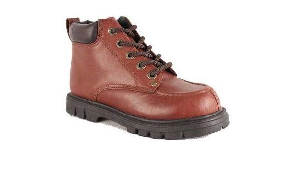 Bass Boys Boots 513P M 3.5 Road Brown