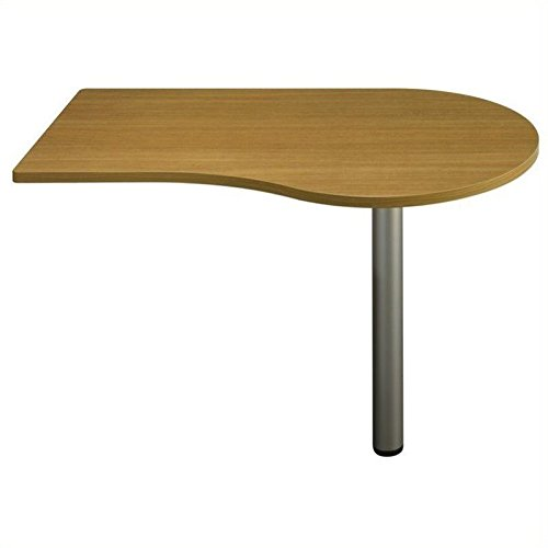 Quantum Modern Cherry Collection - Bush QT7465MC - Quantum Series Right Peninsula, 47-5/8w x 29-1/4d x 30h, Modern Cherry