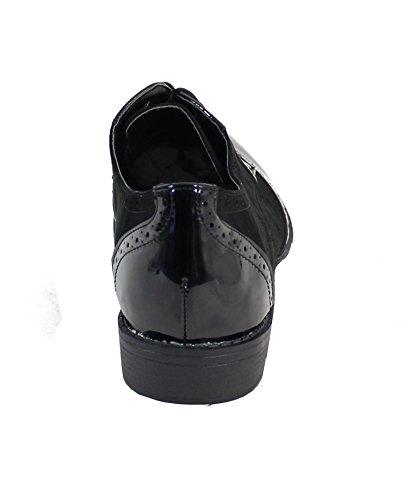 By Zapatos para de Shoes Mujer cordones rr0HFqg