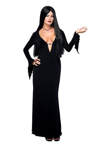 Morticia Adult Wig (Morticia Addams Adult Costume - Small)