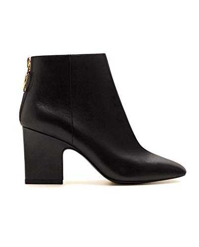 Zipped Ankle Boots Mango Damen 33063719 Leather wvCaP5q