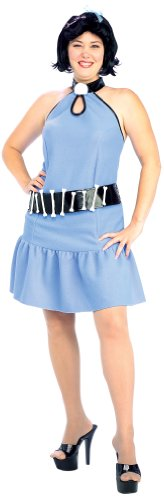 The Flintstones Betty Plus Adult Halloween Costume Size: Plus (16-22)]()