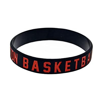 Relddd Silicone Wristbands With Sayings Bruton Basketball Rubber Bracelets For Basketball Fans Inch Set Pieces Estimated Price £25.99 -