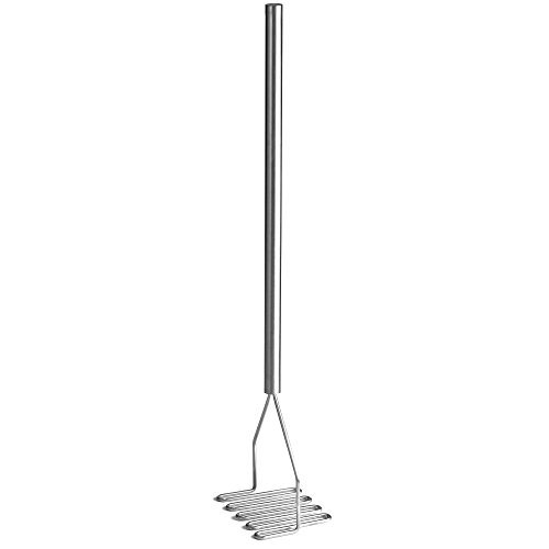 Tablecraft S/S 32'' Square Face Masher with S/S Handle by Tablecraft