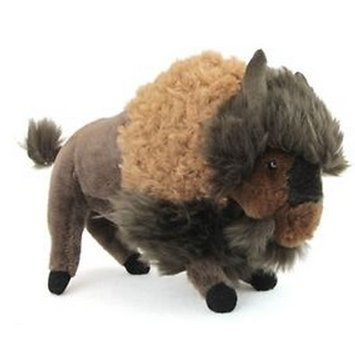 All Seven @ New Arrival Bison Buffalo Plush Stuffed Animal Toy 8