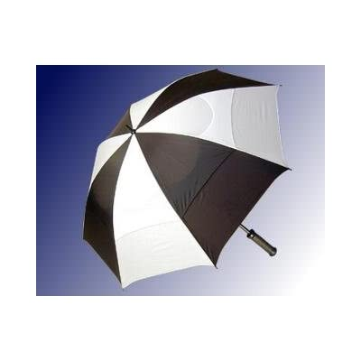 "68"" Vented Umbrella"" Black/white"