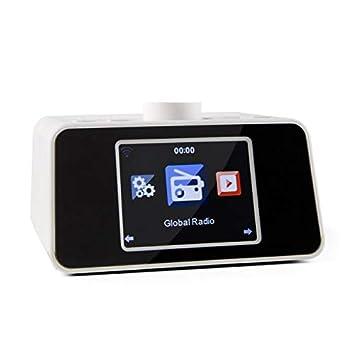 auna i-Snooze White Edition - Radio con Internet WiFi ...