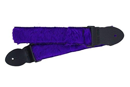 Soft Fur Design Adjustable Acoustic Electric Guitar Strap