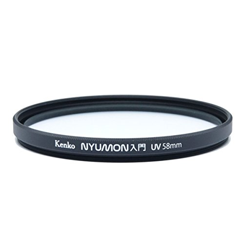 Kenko Nyumon Slim Ring 58mm UV Multi-Coated (MC) Filter, Black, compact (225849)