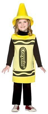 Rasta Imposta Crayola Yellow Costume by Rasta Imposta