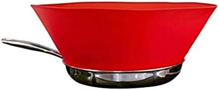 KongLyle Pot Baffle Oil Splash Guard Screen Kitchen Fry-guard Splatter Non-stick Silicone Splash-proof