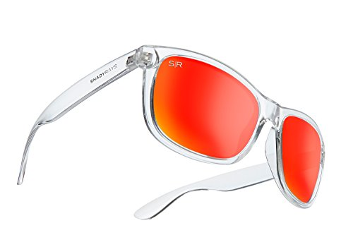 Shady Rays Signature Series Polarized Sunglasses Infrared, Ice