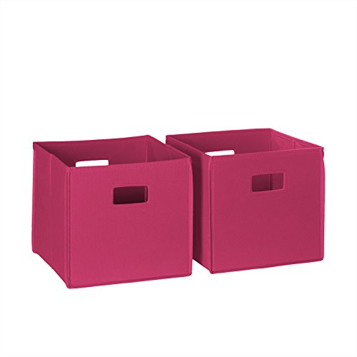 RiverRidge Kids 2-Piece Soft Storage Bins