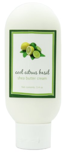 Shea Butter Cool Citrus Basil Cream by MoonDance Soaps – Handmade Moisturizers with Shea Butter and Aloe Vera