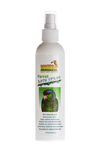 Jungle Beaks 8 Oz Parrot Bath Spray Bird Toy Parts Parrots Bathe Feathers
