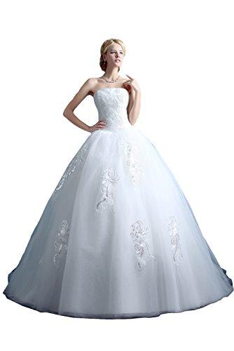 Traumhaft j Abendkleider Ballkleider Stil Ivydressing Hozhzeitskleider Damen Lang 7w0HqH