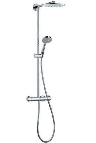 Hansgrohe Raindance Showerpipe EcoSmart S 180 AIR with S100 AIR hand shower no. 27165000