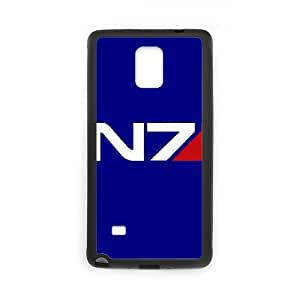 Fashionable Creative Mass Effect Cover case For Samsung Galaxy Note 4 N9100 KS1L92605