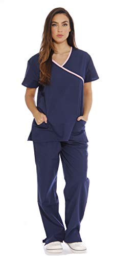 Just Love Women's Scrub Sets Medical Scrubs (Mock Wrap) 11142W-2X from Just Love