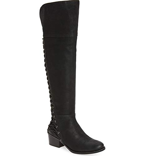 Vince Camuto Bolina Leather Over The Knee Fitted Riding Bestan Boots