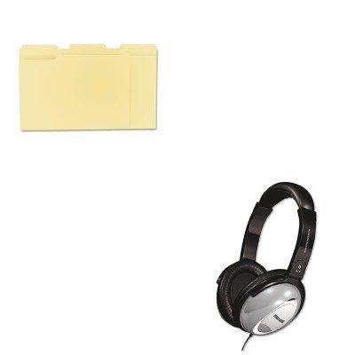 KITMAX190400UNV12113 - Value Kit - Maxell HP/NC-II Noise Canceling Headphone (MAX190400) and Universal File Folders ()