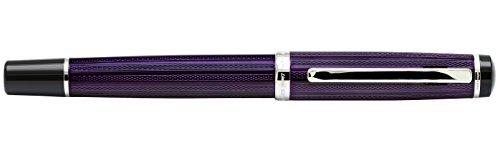 Xezo Diamond Cut Gel Ink Rollerball Pen (Incognito Purple R) by Xezo (Image #4)