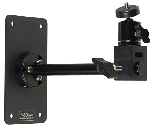 Wall-Mounted Camera Support with Ball Head