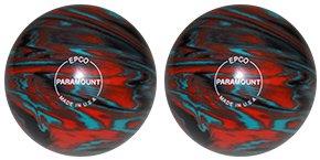 最安値級価格 EPCO Candlepin Bowling ball- Marbleized – ティール、オレンジ&ブラック – 2 Balls 4 1/2 inch- 2lbs. 6oz.  B01N9OQ69K, DREAM GATES SPORTS a4b6de6a