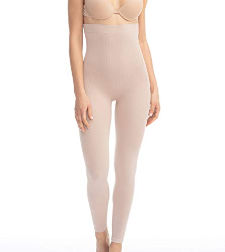 - FarmaCell 133 (Nude, S/M) Women's Compression Anti-Cellulite Leggings