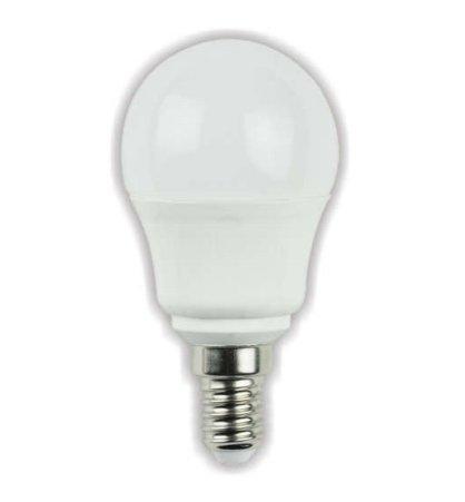 lineteckled® a03.011.06 C Bombilla LED a bulbo mate con casquillo E14 6 W luz cálida 3000 K 230 V - Alta luminosidad.: Amazon.es: Iluminación