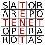 Coslive Tenet Sator Square Pendant,Cube