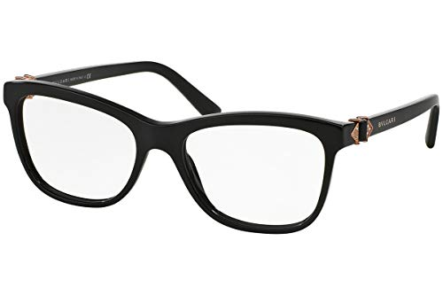 Bvlgari Women's BV4101B Eyeglasses Black 52mm