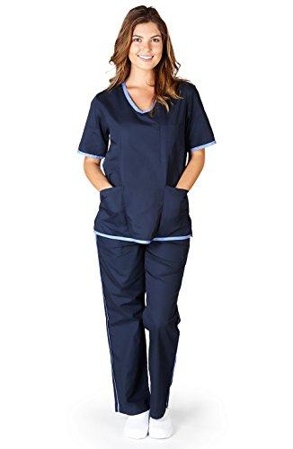 Natural Uniforms Womens Contrast Scrub
