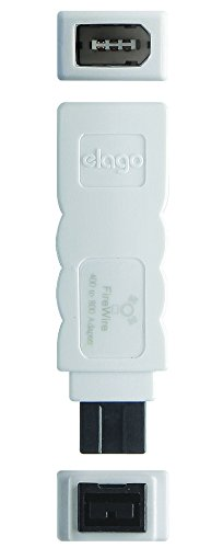 Amazon.com: elago FireWire 400 to 800 Adapter (White) for Mac Pro ...