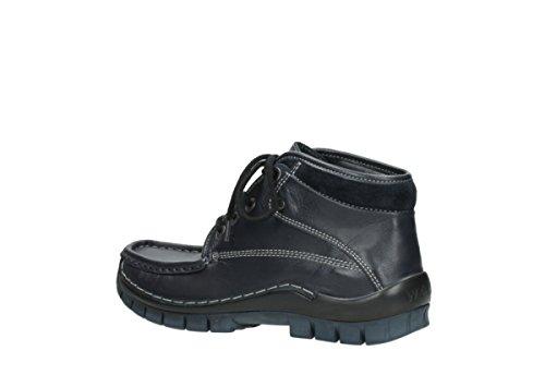 Wolky Chaussures Dive Lacets À Leder Winter 30800 Blau rrxwHqzd
