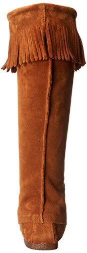 Minnetonka Men's Front Lace Knee High Boot Brown discount shopping online free shipping footlocker classic for sale cheap wholesale price ejuzTPf8