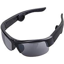 BoneConductionHeadphones, Tayinplus Bone Conduction Sunglasses Bluetooth Wireless Headphones Smart Sunglasses Built in Bone Conduction Speakers Handsfree Headset for Smartphones Safe Car Driving