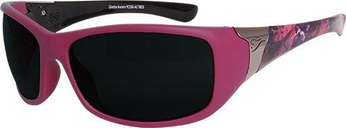 Edge Eyewear YC156-A2 Ladies ''Aurora'' Pink Smoke Lens Safety Glasses by Edge Eyewear