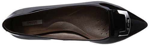 Color Marca para Mujer Bailarina Geox Zapatos Negro Negro Negro para Modelo Zapatos Geox Bailarina RHOSYN Mujer D B q5tw5fXU
